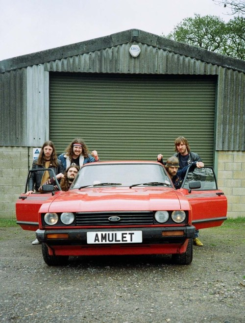 Amulet press shot